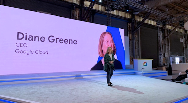 Google Cloud, Diane Greene